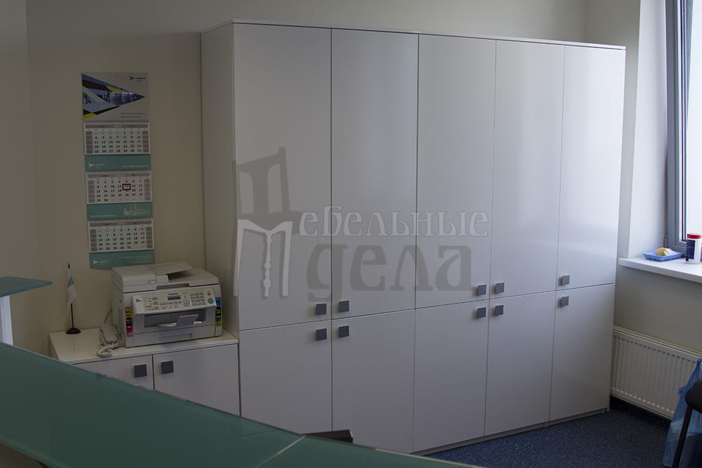 Шкафы из белого лдсп фото.